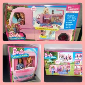 BARBIE DREAM CAMPER BRAND NEW